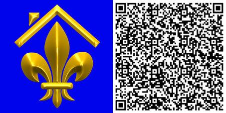 Condé Immobilien Kontaktinfo QR-Code
